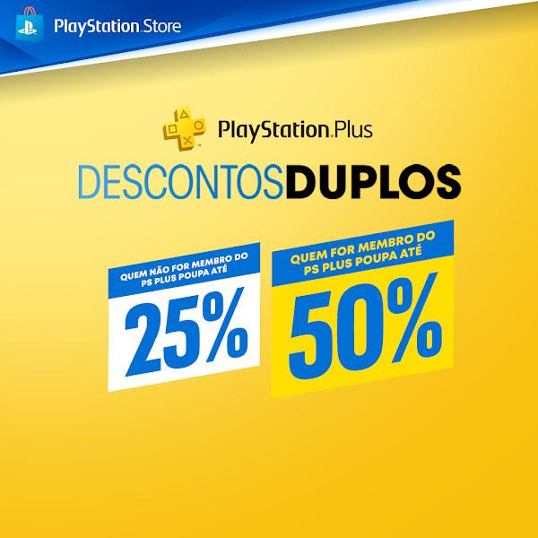 Descontos Duplos do PlayStation®Plus começam hoje
