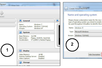 Cara Install Windows 7 di Virtualbox Menggunakan File ISO