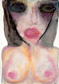 Little Perishers, pintura de Marilyn Manson.