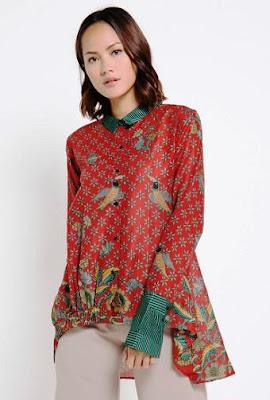 Model Batik Lengan Panjang Terbaru