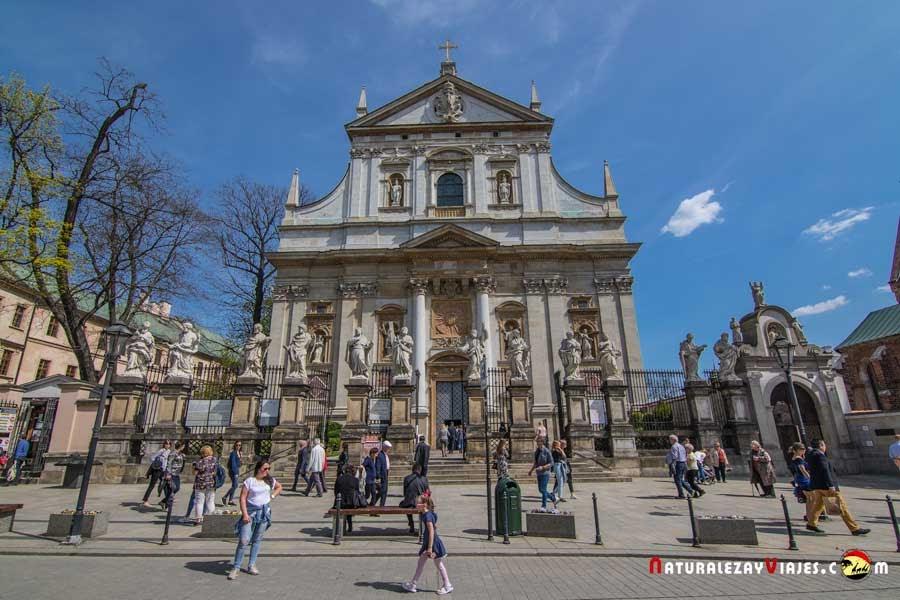 Iglesia de San Pedro y San Pablo, Cracovia