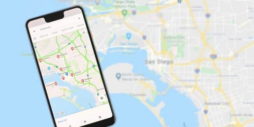 Google Maps has a useful feature for Waze ... here are the details
