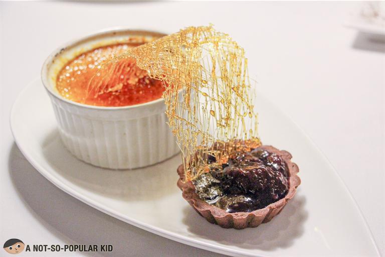 Creme Brulee of Chef Ariel, Bistro Manuel in Poblacion, Makati
