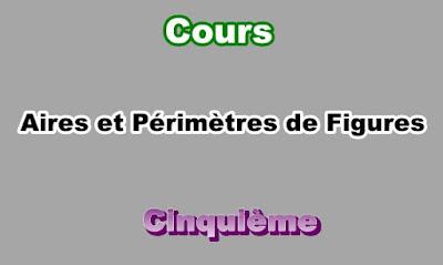 Cours d'Aires et Périmètres de Figure 5eme en PDF