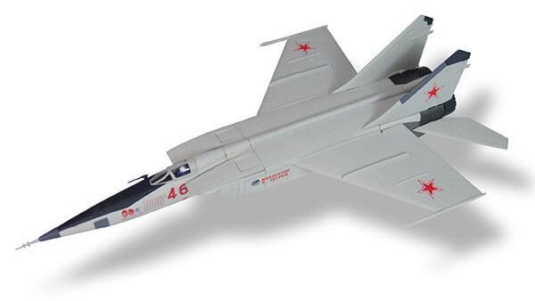 aviones de combate MiG-25 RBT Foxbat B