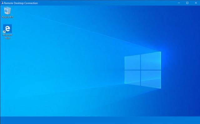 Taskbar tidak terlihat di Remote Desktop