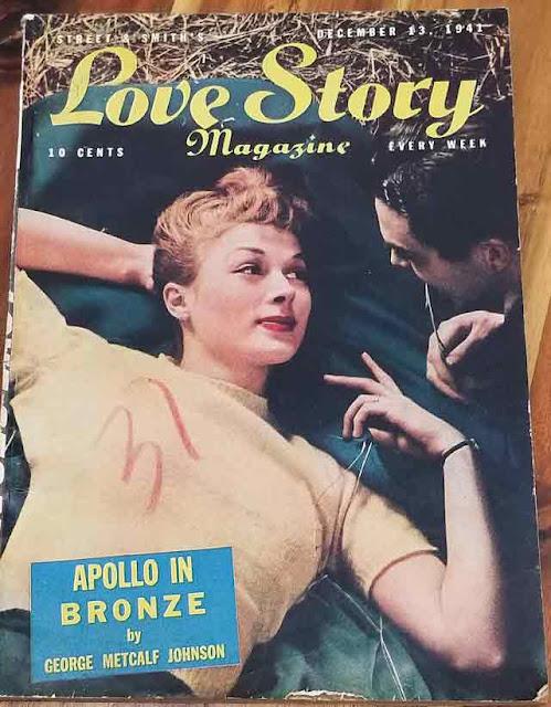 Love Story Magazine on 13 December 1941 worldwartwo.filminspector.com