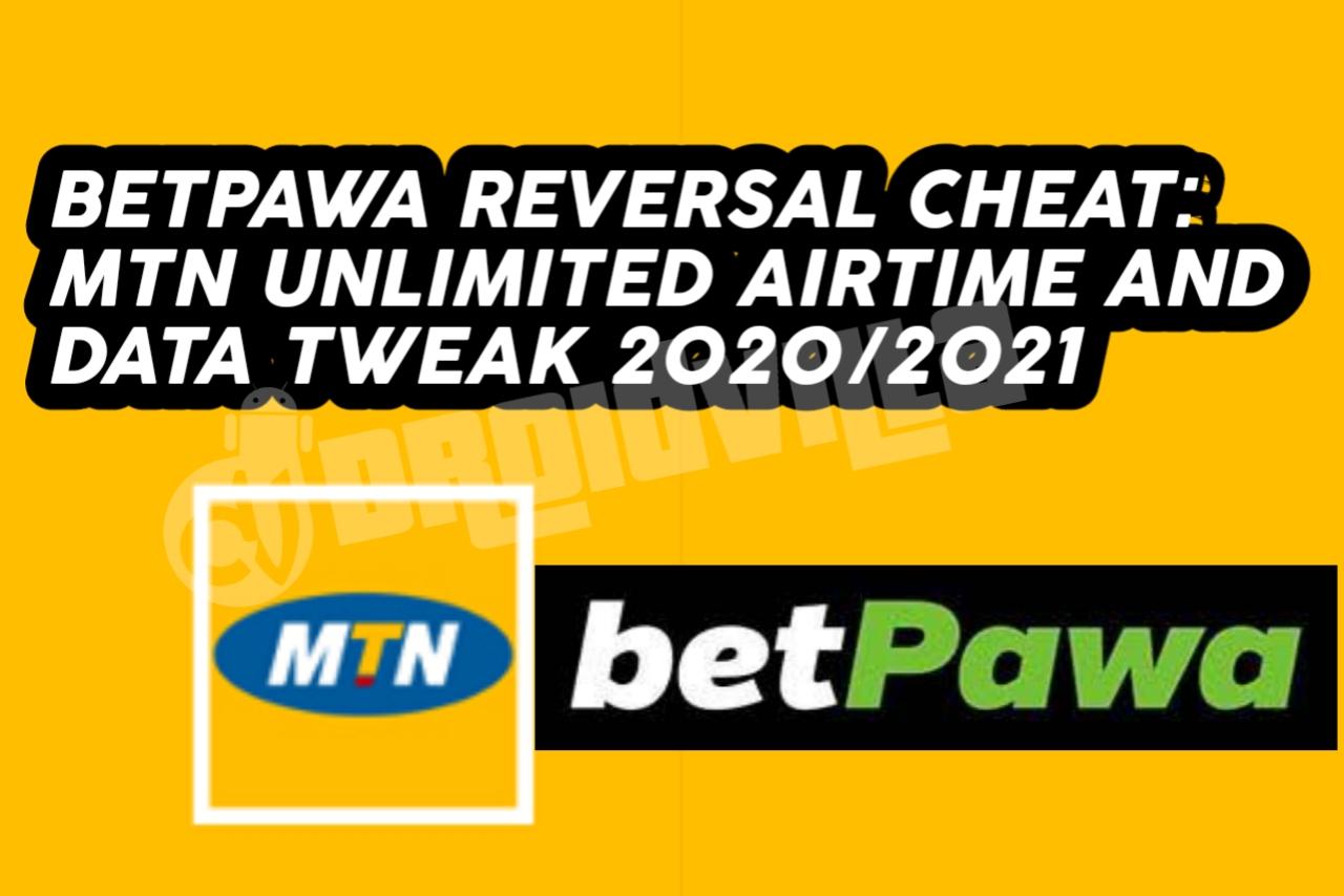 Mtn Reversal betpawa cheat