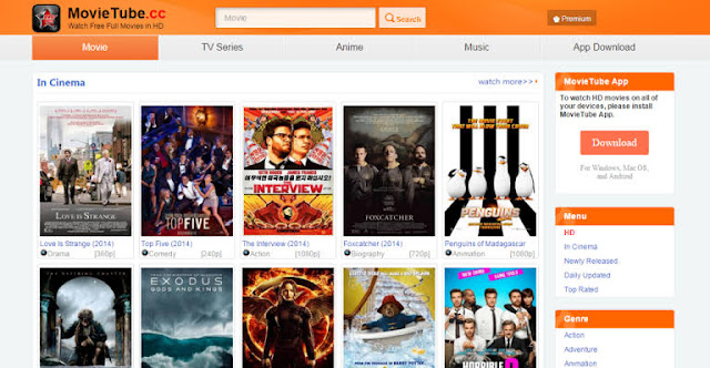 Movietube Hollywood Dubbed in Hindi, Bollywood Movies Download & New Domain Link