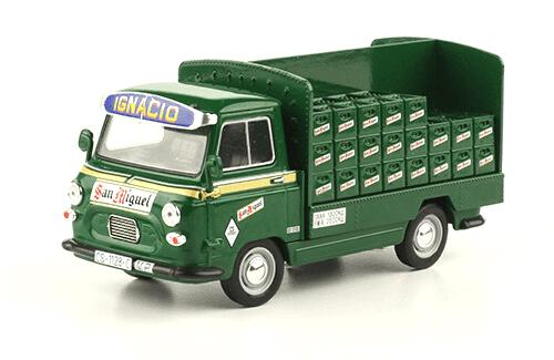 SAVA J4 1974 Cerveza San Miguel vehículos de reparto y servicio salvat