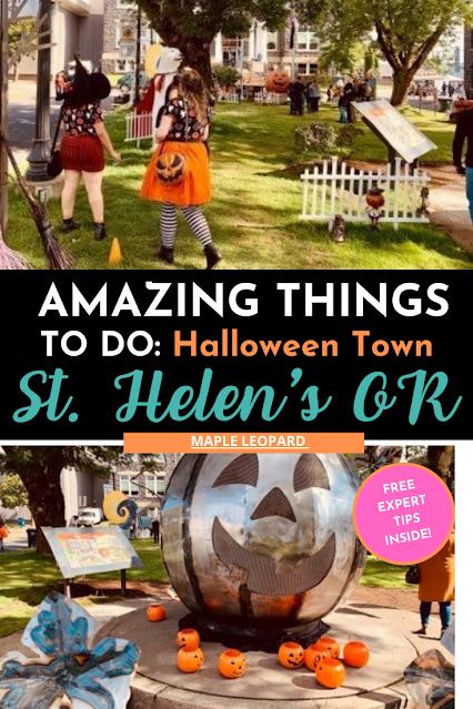 Halloweentown, ST. Helen's Oregon, PNW travel, Oregon Travel
