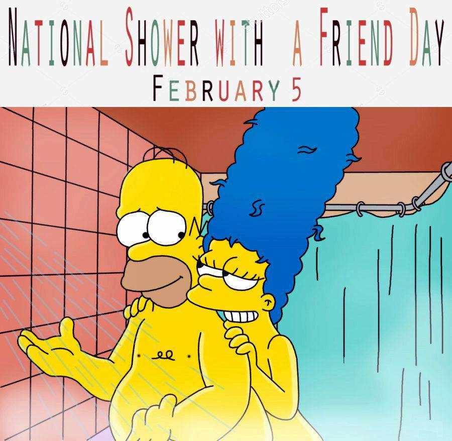 National Shower with a Friend Day Wishes For Facebook