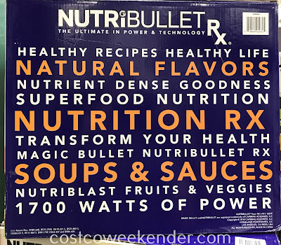 NutriBullet Rx 12-piece set: great for any kitchen