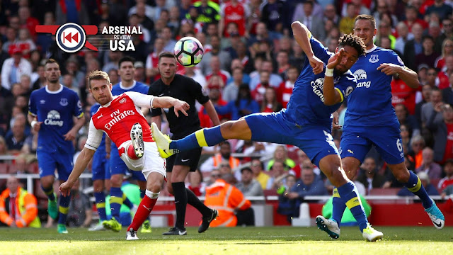 Aaron Ramsey Everton