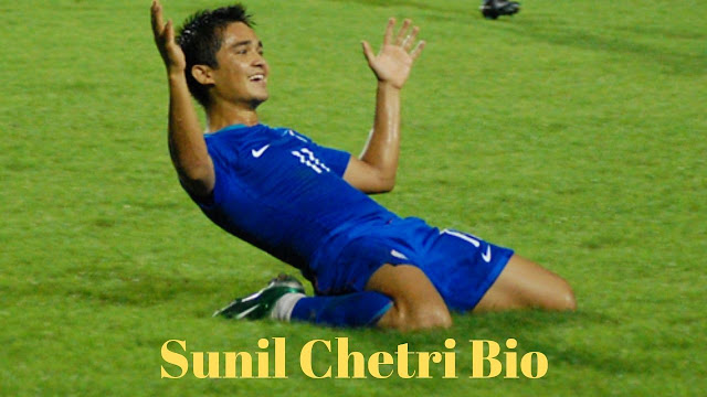 Sunil Chetri Biography, Height, Weight, Wife, Parents, Affairs, Achievements Salary Etc
