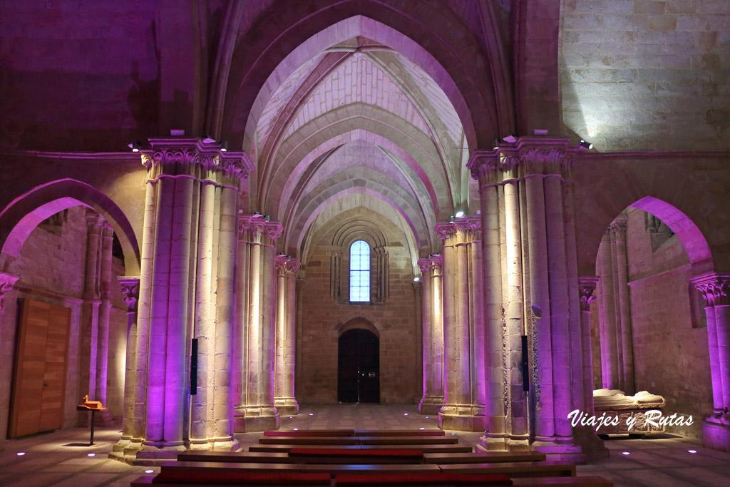 Interior de la Iglesia del Monasterio de Santa María la Real