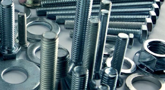 Piezas metálicas protegidas contra la corrosión