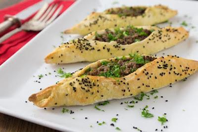 Lebanese Savory Lamb Fatayer