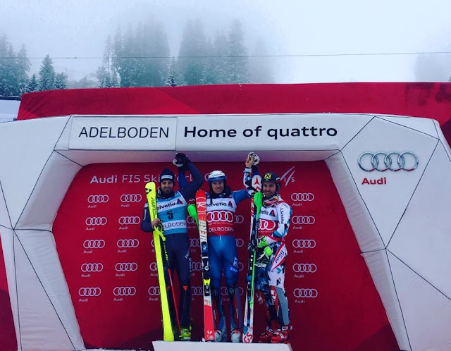 Henrik Kristoffersen Wins World Cup Slalom in Adelboden