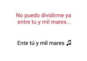 Laura Pausini Tú y Mil Mares Entre significado de la canción.