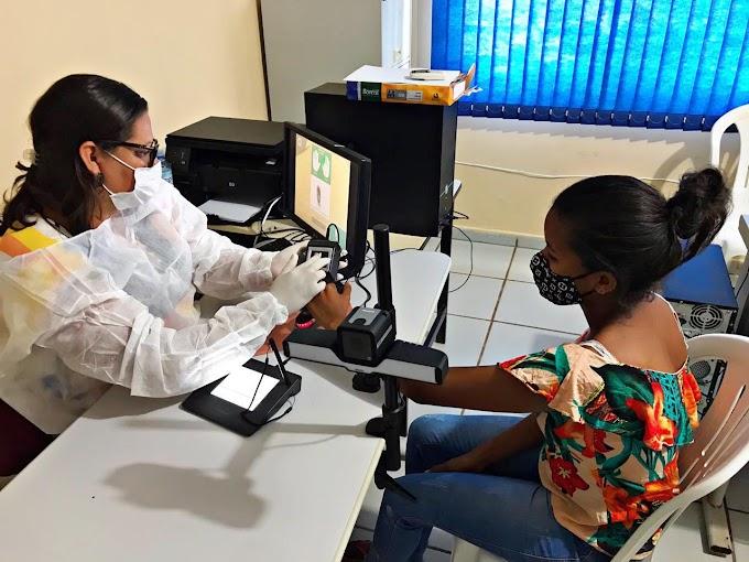 Prefeitura de Rosário Oeste implanta sistema biométrico para confecção de RG.