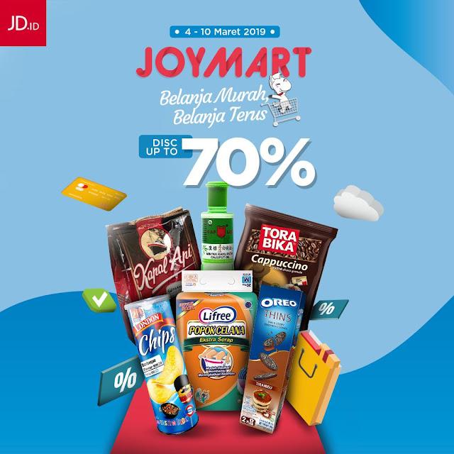 #JDid - #Promo Belanja Murah JOYMART PAYDAY Diskon Hingga 70% (s.d 10 Maret 2019)