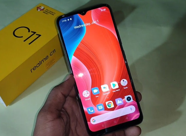 Realme C11 RMX2185 Remove Screen Lock Pattern / Password With DownloadTools Via Online Remotely