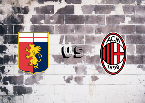 Genoa vs Milan  Resumen