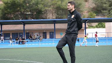"""Albert, entrenador del Tarraco: """"La gente se lo deja todo, es un orgullo entrenarlos, ya lo saben"""""""