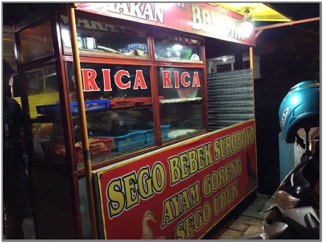 Rica-rica pojok Alun-alun Bojonegoro;10 Top Kuliner Bojonegoro;