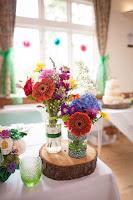 Bright colour wedding decoration ideas