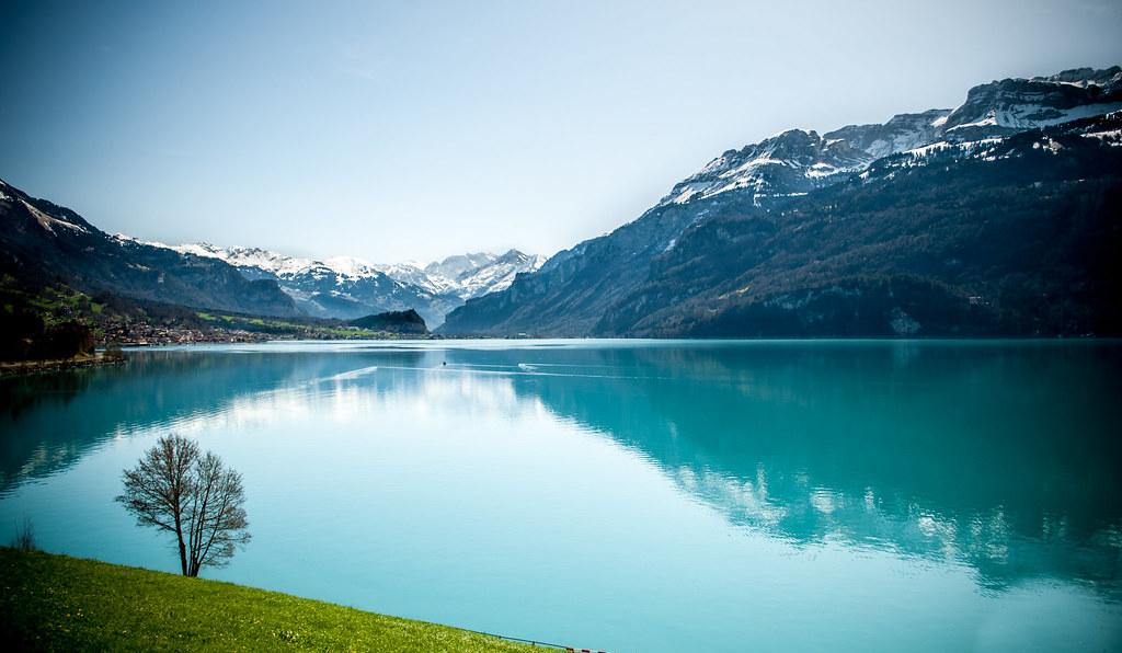 Dreamy Swiss lake