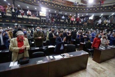 AN DECLARA INVÁLIDOS LOS ACTOS DEL PERÍODO PARLAMENTARIO PRESIDIDO POR GUAIDÓ
