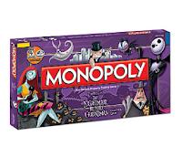 L'ambiance d'halloween dans ce Monopoly