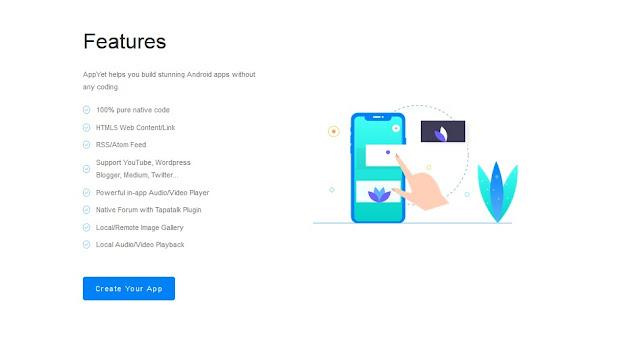 طريقة تحويل موقعك او مدونتك على تطبيق اندرويد بدون برمجة
