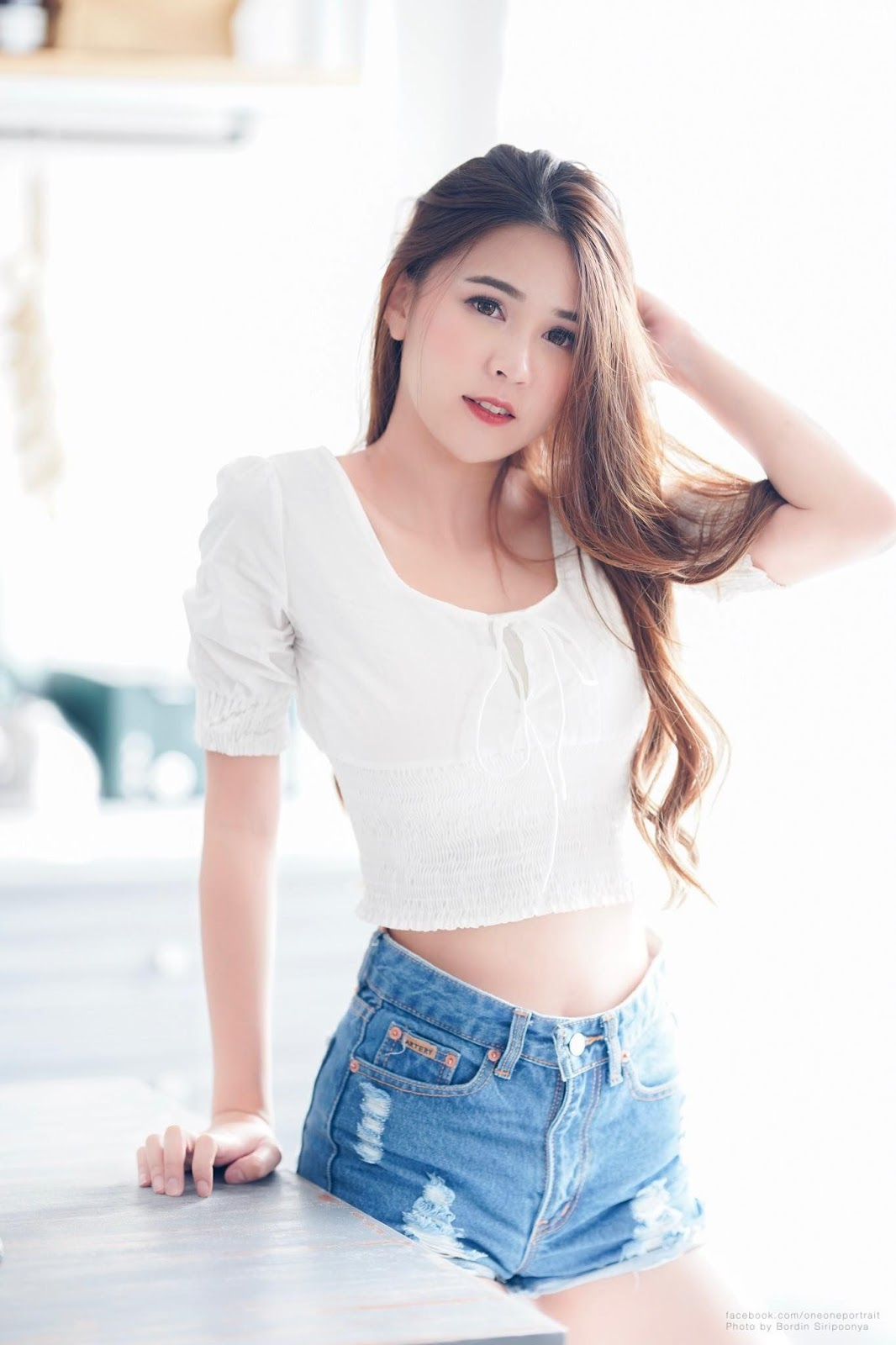 Thailand cute model Supansa Yoopradit (Lorpor) - Lovely smile girl - Picture 5