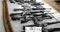 أسلحة ومضبوطات خلية الأميرية الارهابية
