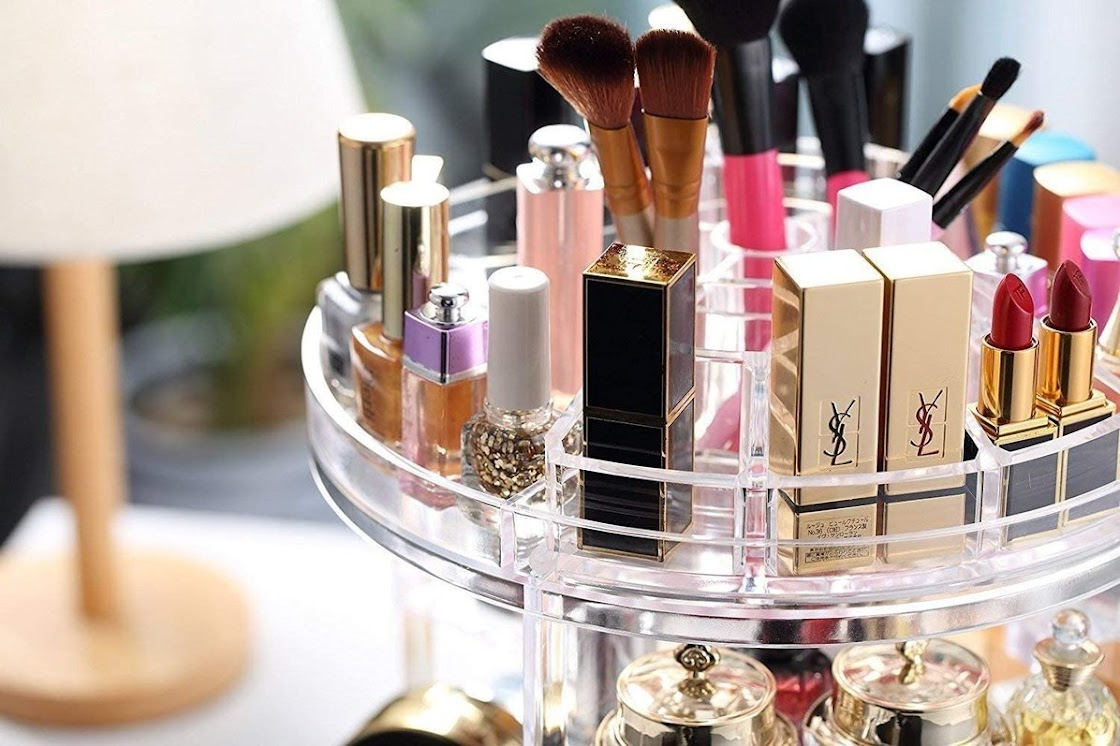 Ten Beauty Products Storage Ideas