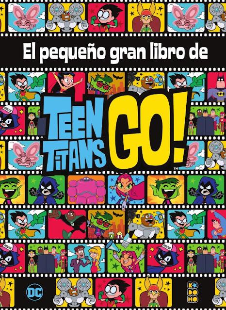 Review del cómic El pequeño gran libro de los Teen Titans Go! - ECC Ediciones