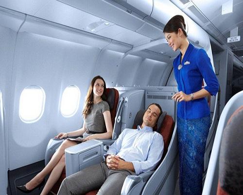Duduk Nyaman di Pesawat