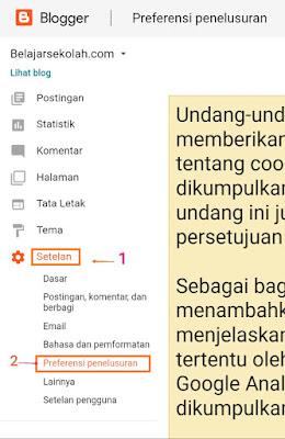 Solusi jika artikel baru tidak terindex google