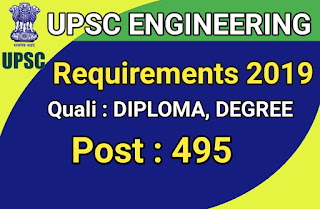 UPSC Clerk Recruitment 2019