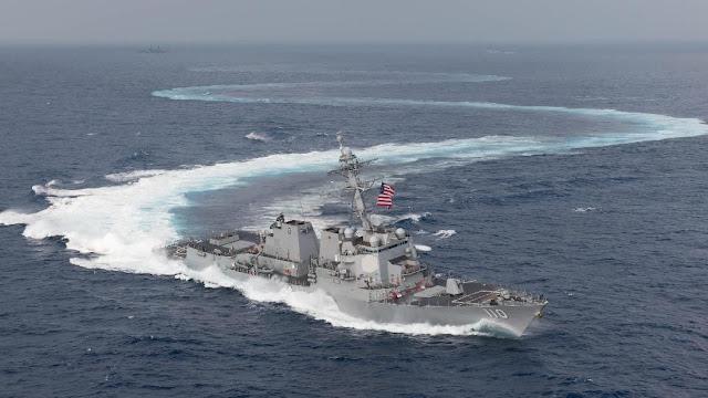 AS, Jepang, India Dan Filipina Latihan Bersama Di Laut China Selatan, Beijing Geram