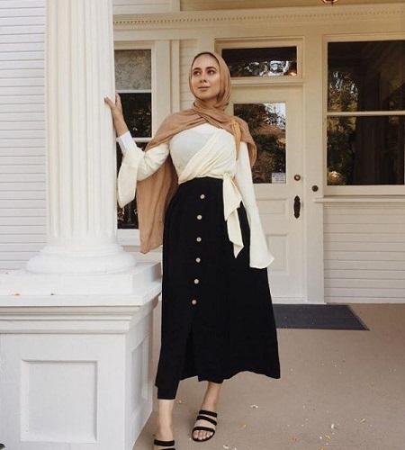 tutorial hijab pashmina simple buat kuliah