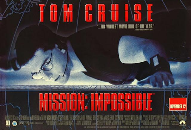 MISSION: IMPOSSIBLE (1996) Film Agen Rahasia Terbaik, Paling Keren Wajib di tonton