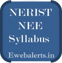 NERIST NEE Syllabus