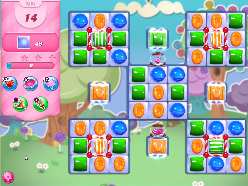 Candy Crush Saga level 3588