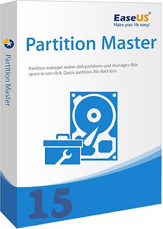 EaseUS Partition Master v15.8