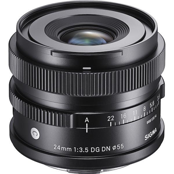 SIGMA lança nova objetiva SIGMA 24mm F3.5 DG DN, da gama Contemporary