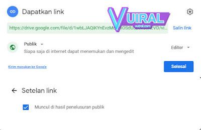 Cara Share File Google Drive Tanpa Permission Untuk Publik